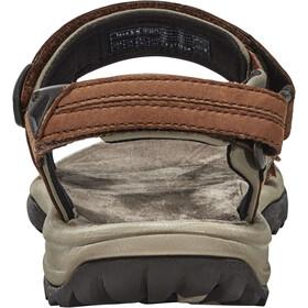 Teva Terra Fi Lite Leather Sandalen Dames bruin